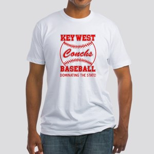Key West Conchs Dominating th Fitted T-Shirt