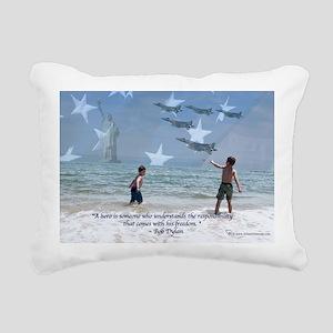honor1 Rectangular Canvas Pillow