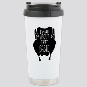 I'm All About Tha 16 oz Stainless Steel Travel Mug