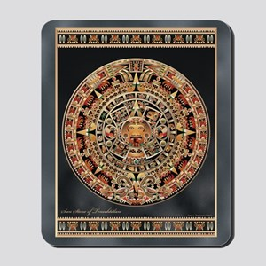 Sun Stone of Ancient Tenochtitlan Mousepad