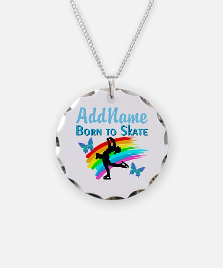 BORN TO SKATE Necklace
