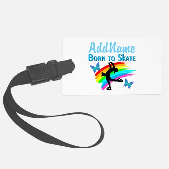 BORN TO SKATE Luggage Tag