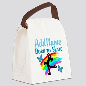 BORN TO SKATE Canvas Lunch Bag