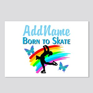 BORN TO SKATE Postcards (Package of 8)