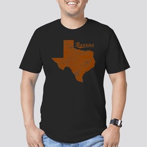 Boerne, Texas (Search  Men's Fitted T-Shirt (dark)