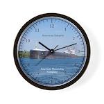 American Integrity Wall Clock