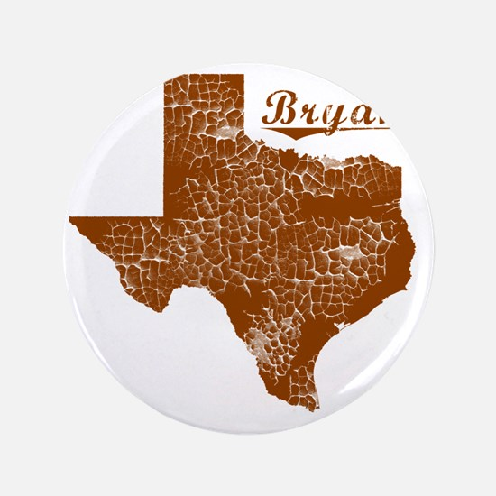 """Bryan, Texas (Search Any City!) 3.5"""" Button"""
