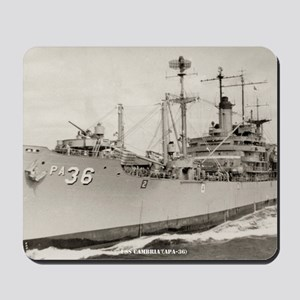 cambria large framed print Mousepad