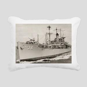 cambria large framed pri Rectangular Canvas Pillow