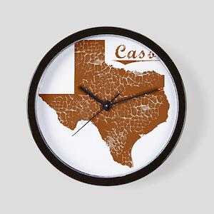 Cason, Texas (Search Any City!) Wall Clock