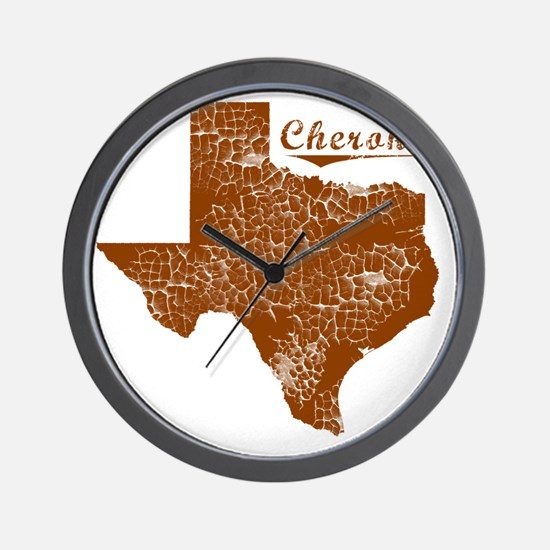 Cherokee, Texas (Search Any City!) Wall Clock