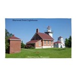 Sherwood Point Lighthouse Area Rug