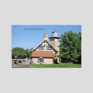 Eagle Bluff Lighthouse Area Rug