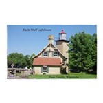 Eagle Bluff Lighthouse Area Rug
