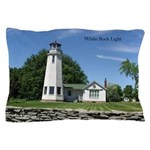White Rock Light Pillow Case