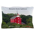 Marquette Harbor Lighthouse Pillow Case