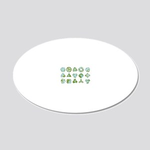 How to Adapt—45 record adapt 20x12 Oval Wall Decal