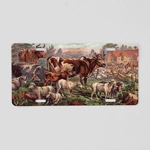 barnyard Aluminum License Plate