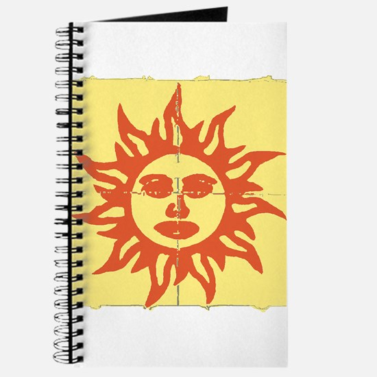 Orange Sunshine Tab Journal