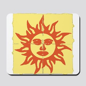 Orange Sunshine Tab Mousepad