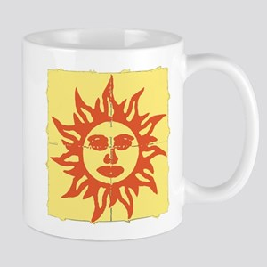 Orange Sunshine Tab Mugs