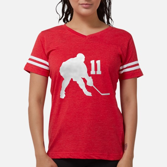 Hockey Player Number 11 T-Shirt