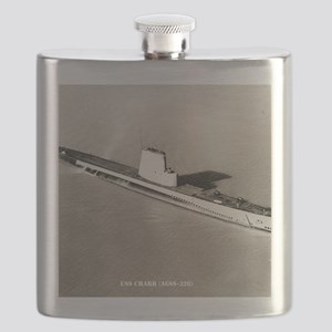 charr agss framed panel print Flask