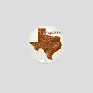 Crystal City, Texas (Search Any City!) Mini Button