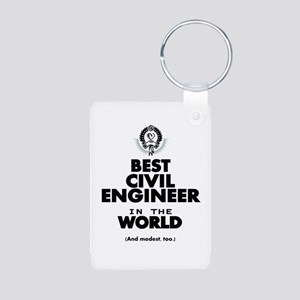The Best in the World – Civil Engineer Keychains