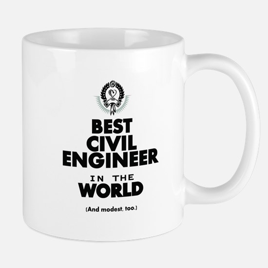 The Best in the World – Civil Engineer Mugs