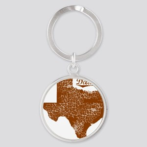 Dawson, Texas (Search Any City!) Round Keychain