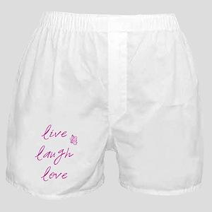 Live Love Laugh Boxer Shorts