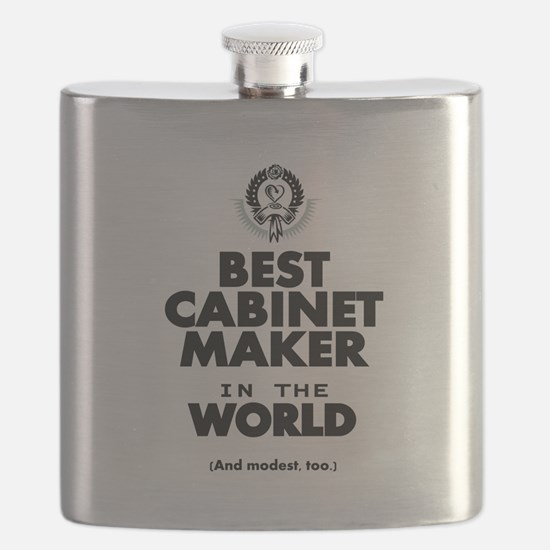 The Best in the World – Cabinet Maker Flask