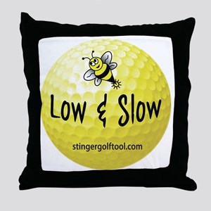 Stinger Low N Slow Throw Pillow