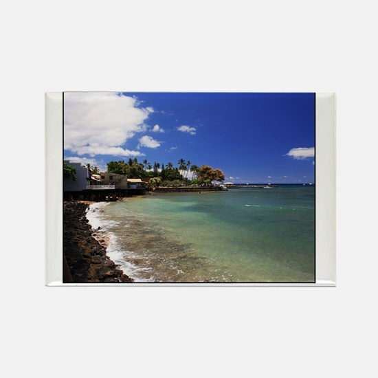 Lahaina - Border Rectangle Magnet