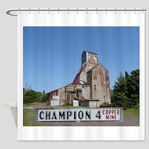 Champion Mine Shower Curtain