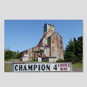 Champion Mine Postcards (Package of 8)