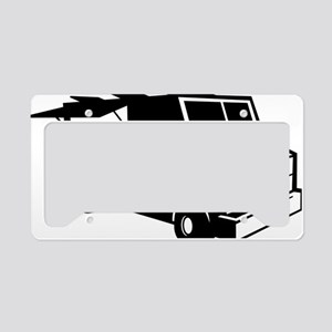 Food Truck License Plate Holder