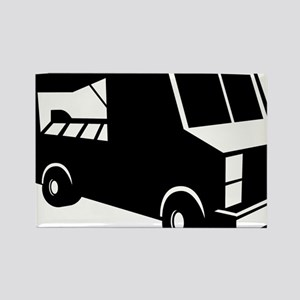 Food Truck Rectangle Magnet