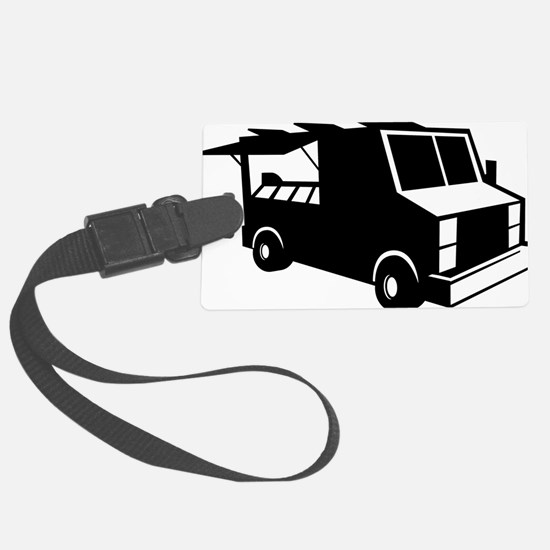 Food Truck Luggage Tag