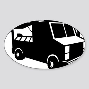 Food Truck Sticker (Oval)