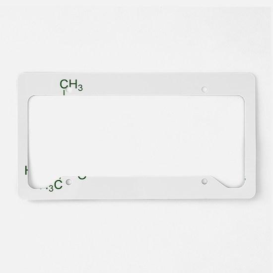Tetrahydrocannabinol License Plate Holder