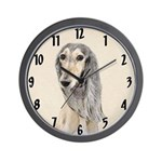 Saluki (Fawn) Wall Clock