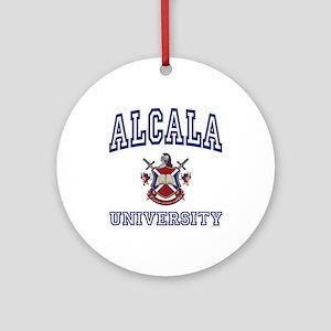 ALCALA University Ornament (Round)