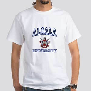 ALCALA University White T-Shirt