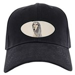 Saluki (Fawn) Black Cap with Patch