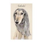 Saluki (Fawn) Sticker (Rectangle 50 pk)