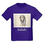 Saluki (Fawn) Kids Dark T-Shirt