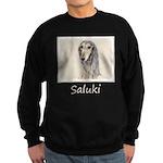 Saluki (Fawn) Sweatshirt (dark)