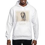 Saluki (Fawn) Hooded Sweatshirt